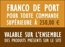 Profitez du Franco de Port